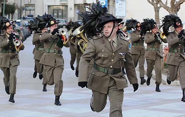 Flash Mob per la Fanfara del 6° Reggimento Bersaglieri  a9b72f9c40af