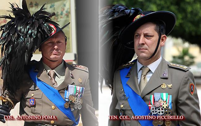 Cambio al 6° Reggimento Bersaglieri di Trapani: Il Ten. Col. Agostino Piccirillo è il nuovo Comandante