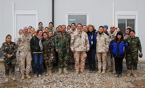 Iraq, operazione Praesidium: personale femminile a confronto