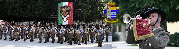 Conferimento alla Bandiera di Guerra del 6° Reggimento Bersaglieri di Croce di Cavaliere Ordine Militare d'Italia – Congratulazioni del Commissario