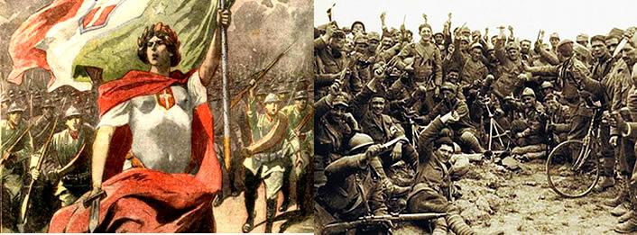 La battaglia di Caporetto, o dodicesima battaglia dell'Isonzo