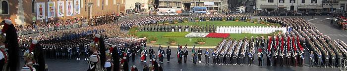 Il Presidente della Repubblica conferisce la più alta onorificenza militare alla Bandiera del 6° Reggimento Bersaglieri di Trapani