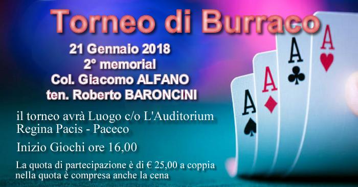 Torneo di Burraco 2018