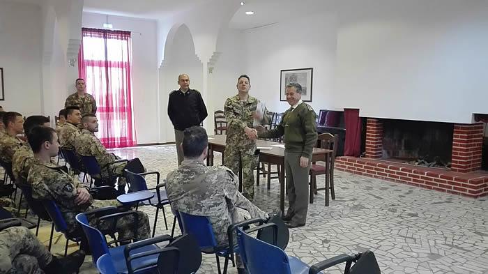 """Progetto """"Sbocchi occupazionali"""" – le attività informative in Sicilia fanno tappa al 6° Reggimento Bersaglieri di Trapani."""