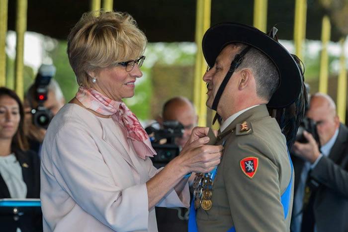 Il Colonnello Agostino Piccirillo insignito della Croce d'Argento al Merito dell'Esercito