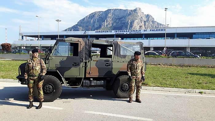 2. operazione strade sicure palermo (aeroporto)