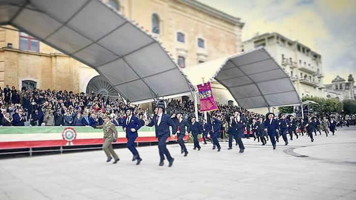 Delegazione del 6° Reggimento Bersaglieri al Raduno Nazionale di Matera