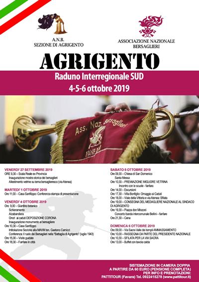 Raduno Interregionale di AGRIGENTO 04/05/06 ottobre 2019
