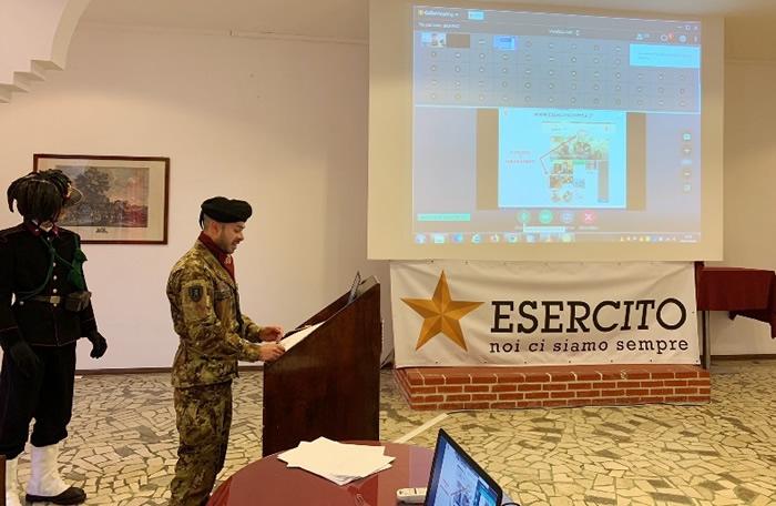 Esercito e didattica a distanza nelle scuole a Trapani