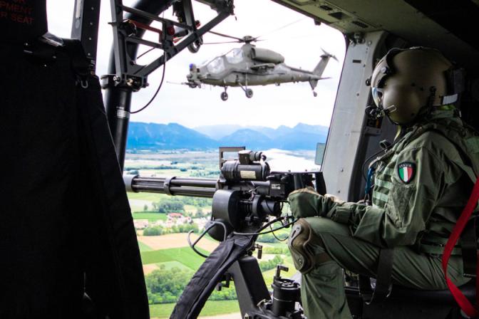 Aviazione dell'Esercito in addestramento