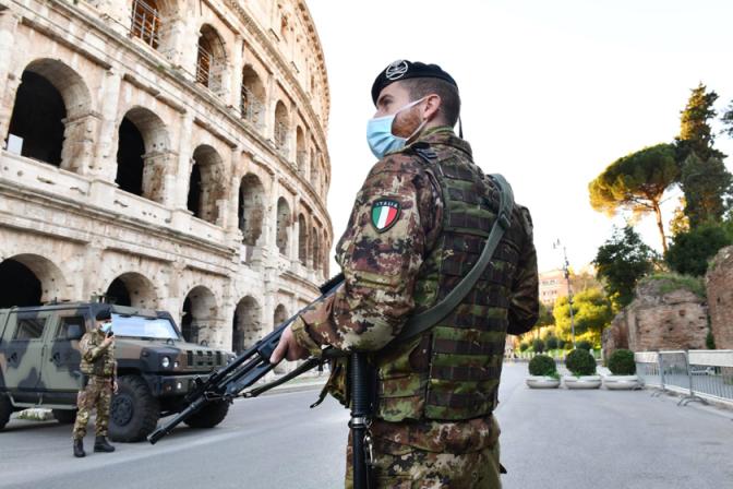 Operazione Strade Sicure, Roma