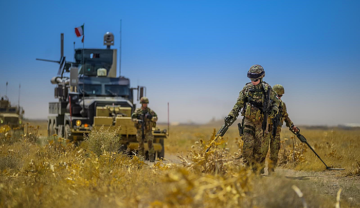 Route clearance in Afghanistan