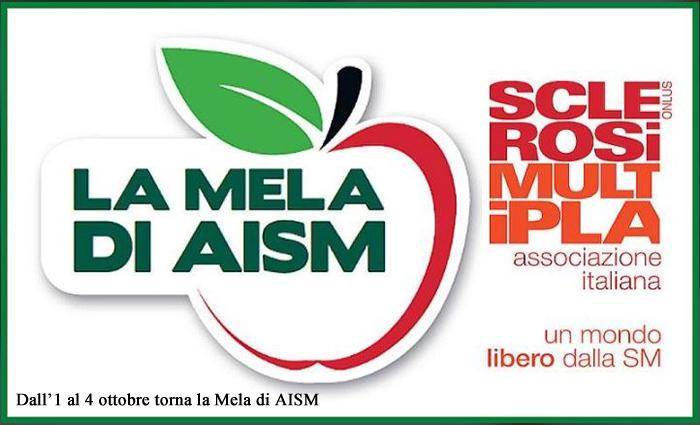 Dall'1 al 4 ottobre torna la Mela di AISM